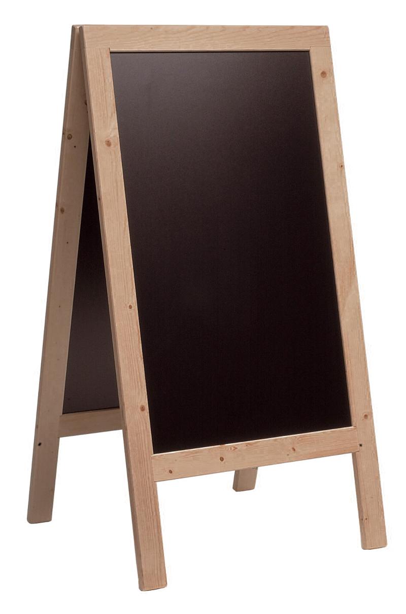 Kundenstopper Holz 750x1350 Mm Kreidetafel Kreidetafeln